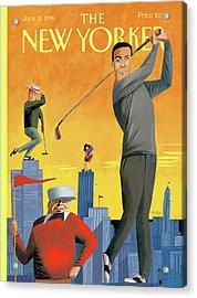 New Yorker June 10th, 1996 Acrylic Print