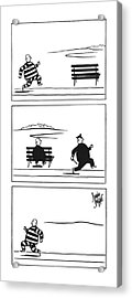 New Yorker June 12th, 1943 Acrylic Print