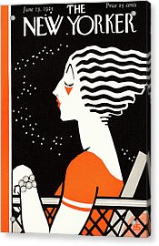 New Yorker June 13th, 1925 Acrylic Print
