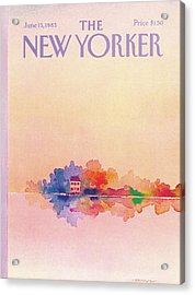 New Yorker June 13th, 1983 Acrylic Print by Susan Davis