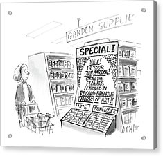 New Yorker June 13th, 1988 Acrylic Print