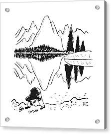New Yorker June 14th, 1941 Acrylic Print