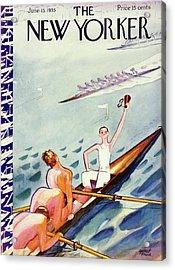 New Yorker June 15 1935 Acrylic Print