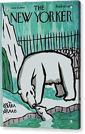 New Yorker June 15th, 1968 Acrylic Print