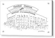 New Yorker June 15th, 1987 Acrylic Print