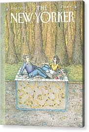New Yorker June 15th, 1992 Acrylic Print by John O'Brien