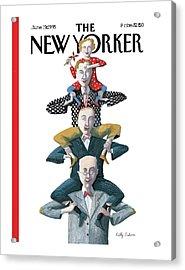 New Yorker June 19th, 1995 Acrylic Print by Kathy Osborn