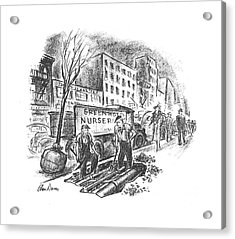 New Yorker June 1st, 1940 Acrylic Print