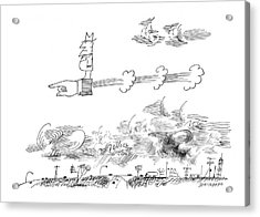 New Yorker June 1st, 1963 Acrylic Print