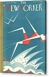 New Yorker June 20th, 1925 Acrylic Print