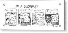 New Yorker June 20th, 1983 Acrylic Print by Roz Chast