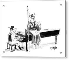 New Yorker June 22nd, 1987 Acrylic Print by Warren Miller