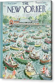 New Yorker June 23rd, 1956 Acrylic Print