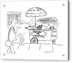 New Yorker June 23rd, 1997 Acrylic Print