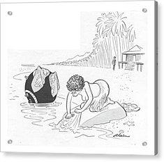 New Yorker June 24th, 1944 Acrylic Print