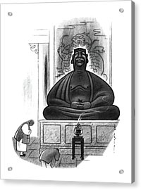 New Yorker June 24th, 1950 Acrylic Print