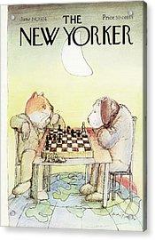 New Yorker June 24th, 1974 Acrylic Print