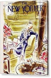 New Yorker June 25 1938 Acrylic Print