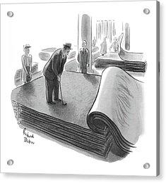 New Yorker June 25th, 1955 Acrylic Print