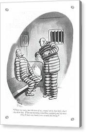 New Yorker June 26th, 1943 Acrylic Print by Richard Decker