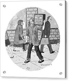 New Yorker June 27th, 1994 Acrylic Print
