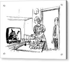 New Yorker June 29th, 1987 Acrylic Print by Joseph Mirachi