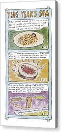 New Yorker June 2nd, 1997 Acrylic Print by Roz Chast