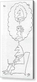 New Yorker June 30th, 1962 Acrylic Print