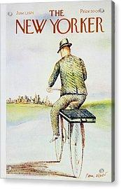 New Yorker June 3rd 1974 Acrylic Print
