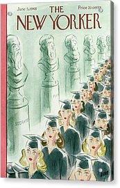 New Yorker June 5th, 1948 Acrylic Print