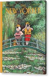 New Yorker June 5th, 2000 Acrylic Print