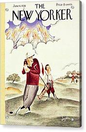 New Yorker June 6 1936 Acrylic Print