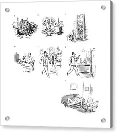 New Yorker March 16th, 1940 Acrylic Print