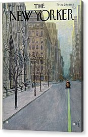 New Yorker March 16th, 1957 Acrylic Print