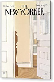 New Yorker March 19th, 1984 Acrylic Print
