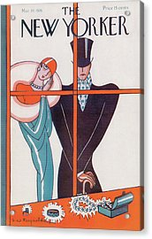 New Yorker March 20th, 1926 Acrylic Print
