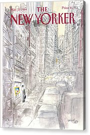 New Yorker March 21st, 1988 Acrylic Print