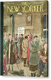 New Yorker March 3rd, 1951 Acrylic Print