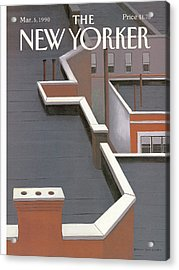 New Yorker March 5th, 1990 Acrylic Print