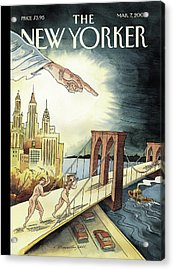 New Yorker March 7, 2005 Acrylic Print