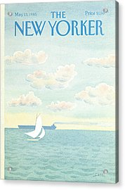 New Yorker May 13th, 1985 Acrylic Print