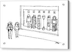 New Yorker May 15th, 2017 Acrylic Print
