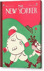New Yorker May 16th, 1925 Acrylic Print by A.E. Wilson