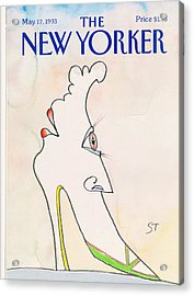 New Yorker May 17th, 1993 Acrylic Print