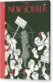 New Yorker May 1st, 1937 Acrylic Print by Christina Malman