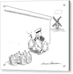 New Yorker May 20th, 1991 Acrylic Print by Bernard Schoenbaum