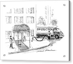 New Yorker May 20th, 1996 Acrylic Print