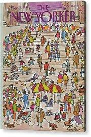New Yorker May 21st, 1984 Acrylic Print