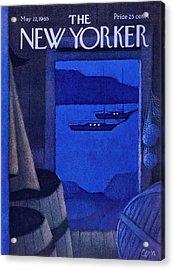New Yorker May 22nd 1965 Acrylic Print