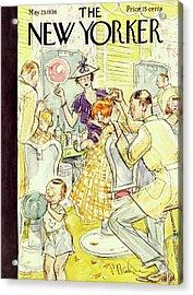 New Yorker May 23 1936 Acrylic Print